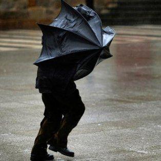 se renovaron las alertas por vientos intensos y fuertes tormentas para la region
