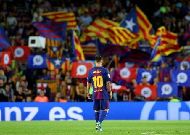 El partido entre Barcelona y Las Palmas se juega a puertas cerradas por el referéndum
