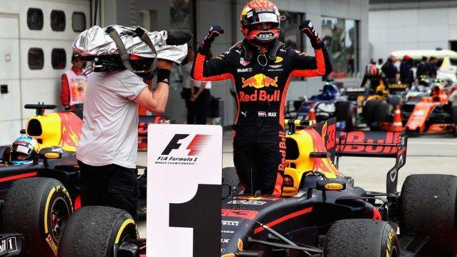 Doble festejo para Max Verstappen: victoria en Malasia y cumpleaños
