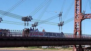 Santa Fe marchó por Santiago Maldonado a dos meses de su desaparición