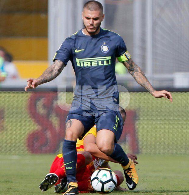Icardi llega a la Selección con la pólvora mojada