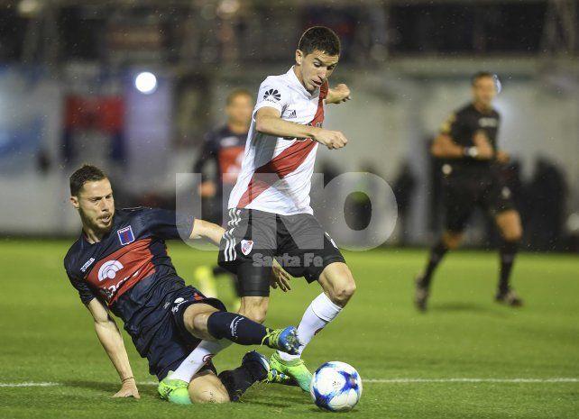 Tigre y River jugaron un duelo de absoluta paridad bajo la lluvia