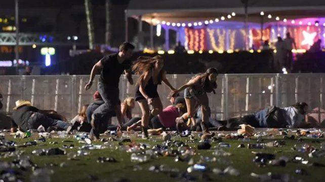 Más de 50 muertos y 100 heridos en un tiroteo durante un concierto en Las Vegas