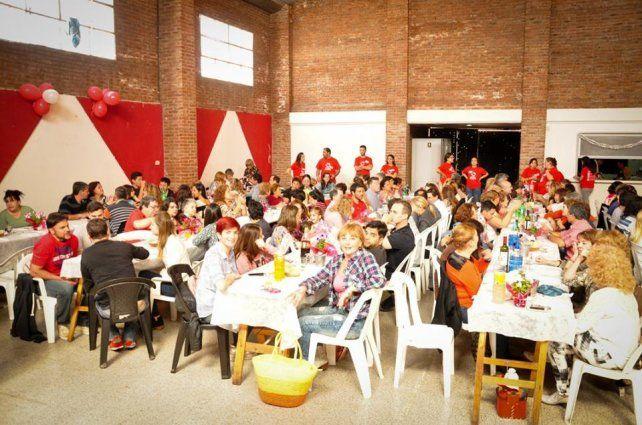 Actitud Solidaria prepara otro almuerzo a beneficio