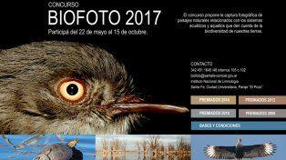 Invitan a fotógrafos a sumarse al concurso Biofoto 2017