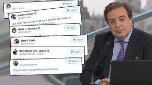 Dolor por la muerte de Edgardo Antoñana: así lo despidieron amigos y colegas en redes