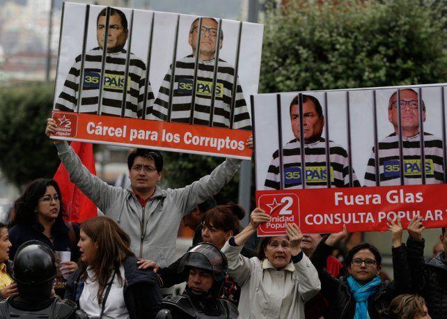 Por la causa Odebrecht detuvieron al vicepresidente de Ecuador