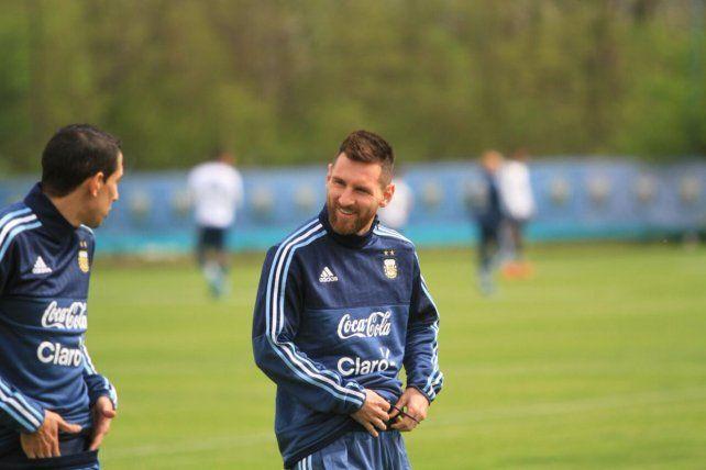 Messi y Mascherano ya se encuentran en el Predio de Ezeiza