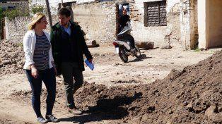Avanzan las obras de Nación en los barrios de tres ciudades santafesinas