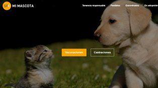 Se presentó un sitio web que fomenta la tenencia responsable de mascotas