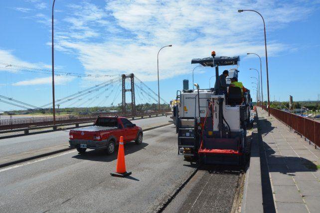 Continúan las tareas de recuperación y mantenimiento de la ruta Nº168