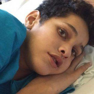 tiene 13 anos, necesita un trasplante y no es apto por su condicion social