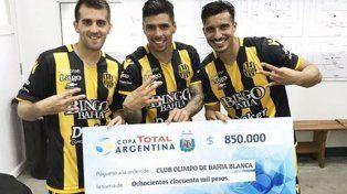 Copa Argentina: Olimpo-Gimnasia, ante la atenta mirada de Unión