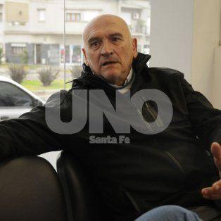 Mario Carande. El médico de 66 años en una entrevista con UNO Santa Fe.