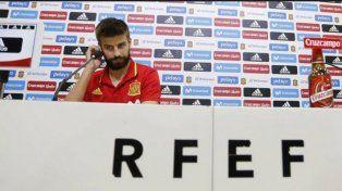 Piqué sentó su posición en el conflicto entre el gobierno español y Cataluña