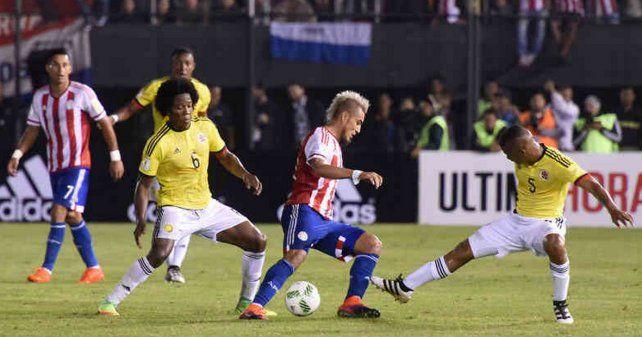 Colombia pretende afianzar su posición frente a Paraguay