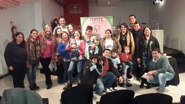 Foto de archivo del grupo organizador. Gentileza Fertife.