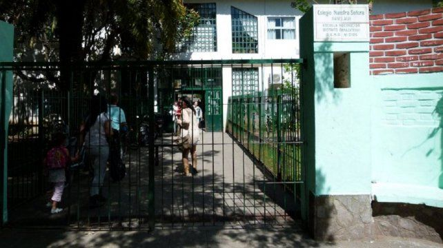 La escuela donde habría ocurrido el hecho