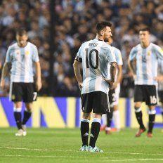El uno por uno de Argentina en el empate ante Perú