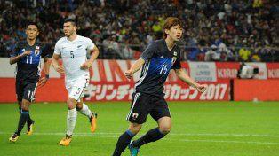 Mientras espera rival, Nueva Zelanda perdió contra Japón