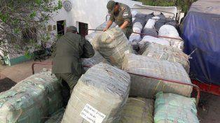 Gendarmería secuestró mercadería de contrabando por más de $8.000.000 en Santa Fe