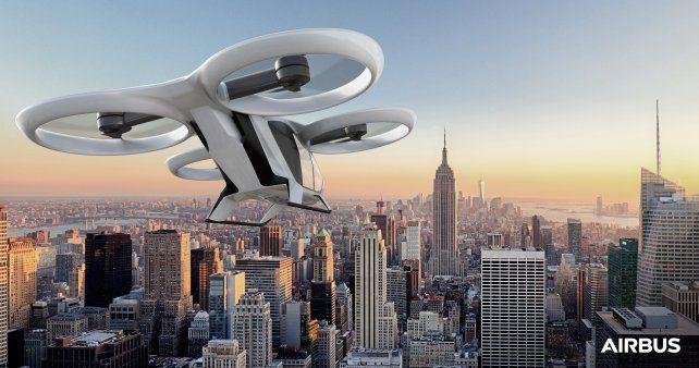 El Taxi-volador está cada vez más cerca y en 2018 comenzará a ser una realidad