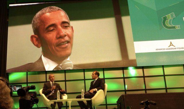 Lifschitz se encontró con Obama en Córdoba, en el marco del Congreso de Economía Verde
