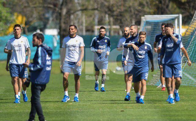Basta de descanso: la Selección Argentina volvió a entrenar pensando en Ecuador