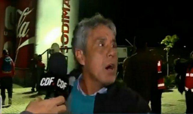 El panqueque que se iba del estadio porque Chile empataba y después se volvió para festejar un gol