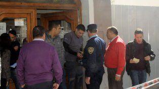 Detenido. El día del crimen de Jaider, el veterinario de 40 años fue trasladado a sede policial.