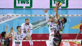 Luciano De Cecco puso a Perugia en una nueva final