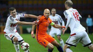 Holanda quedó contra las cuerdas y necesita un milagro para ir a Rusia