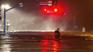 Así quedó Tulsa, en Oklahoma, tras el paso de Nate (Mark Wallheiser / AFP)