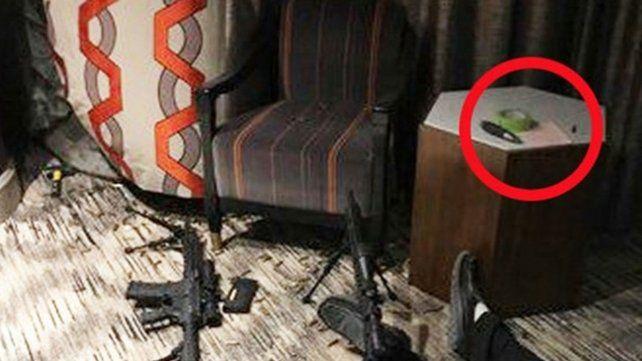 El escalofriante contenido de la nota que el atacante de Las Vegas dejó en la habitación