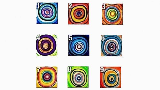 Elegí uno de estos 9 círculos y mirá qué dice de tu personalidad