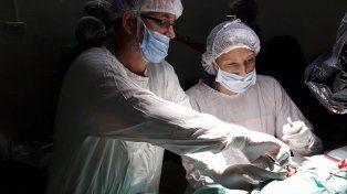Los profesionales. Los doctores José Manuel de Prado y Andrea Romero