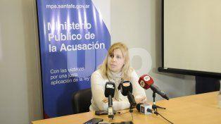 Rosana Marcolín. La funcionaria del MPA fue quien solicitó la prisión preventiva.