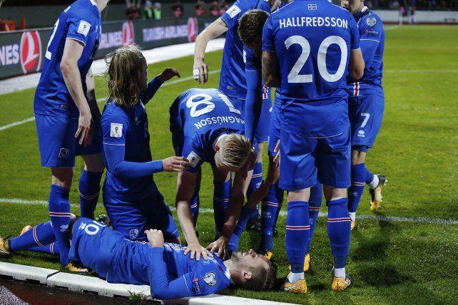 Islandia logró una histórica clasificación al Mundial