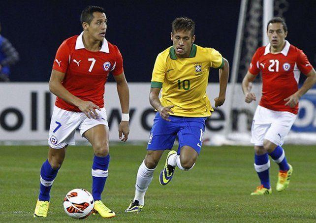 Chile juega su boleto a Rusia en la casa del mejor