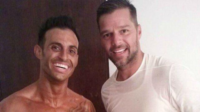 Ricky Martin encontró a su hermano