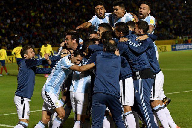 Con un Messi brillante, Argentina clasificó al Mundial después de mucho sufrimiento