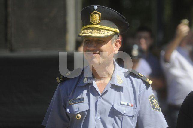 En libertad. El Jefe policial iba a ser imputado hoy en tribunales pero por orden de las autoridades del MPA fue excarcelado.
