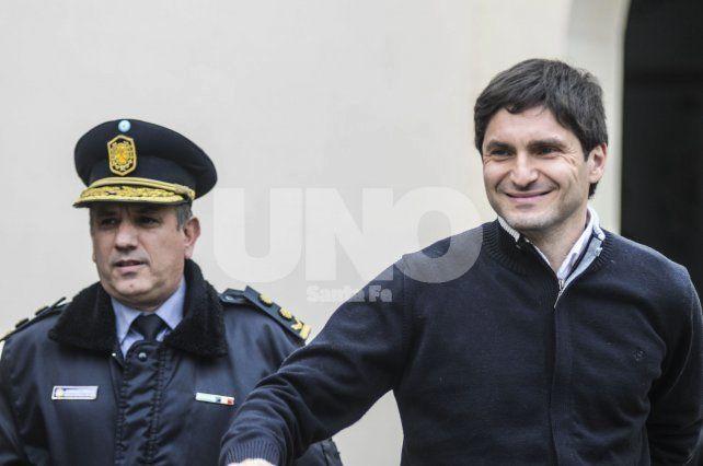 Excarcelado. Adrian Rodríguez cumplió funciones en la Unidad Regional I hasta agosto del 2016.
