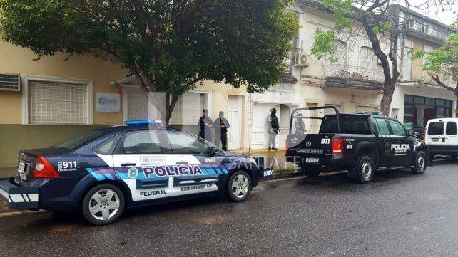 Allanamientos en el macrocentro vinculados a banda narco que opera en la región