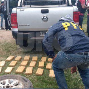 desarticularon parte de una banda narcocriminal del litoral argentino