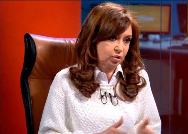 Detectaron inconsistencias en la declaración jurada de Cristina Kirchner