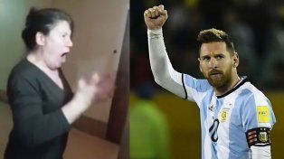 La gran Tano Pasman: enloqueció con los goles de Messi