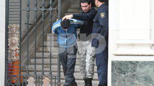 Detenido. Ayer el acusado tras ser imputado por el fiscal Marchi.