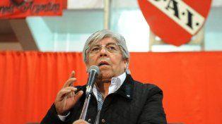 Moyano confirmó que buscará la reelección