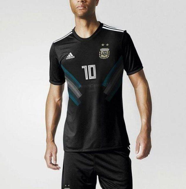 La camiseta alternativa de Argentina cambiará de color